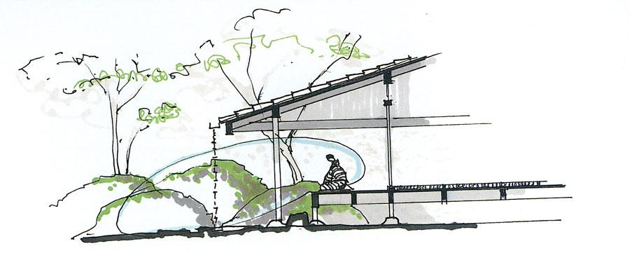 Architect sauzet principles influences of japanese for Architecture japonaise moderne